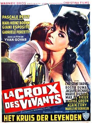 La Croix des vivants - Poster Belgique