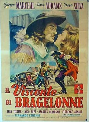 El Vizconde de Bragelonne - Poster - Italy