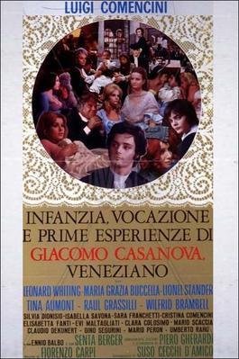 Infancia, vocación y primeras experiencias de Giacomo Casanova, veneciano - Poster Italie