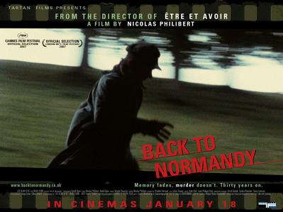 Retour en Normandie - Poster - UK