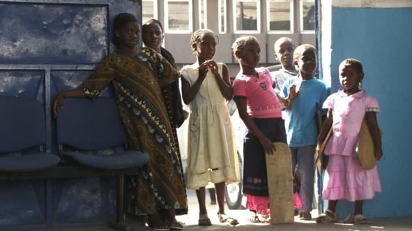 The Children's Empire, an Angry Dakar Woman