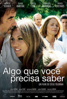 Quelque chose à te dire - Poster - Brazil