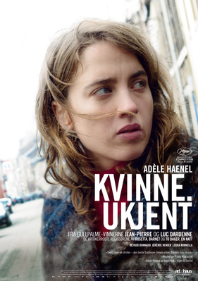 La Fille inconnue - Poster - Norway