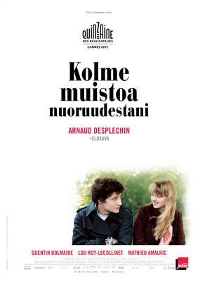 Trois souvenirs de ma jeunesse - Poster - Finland