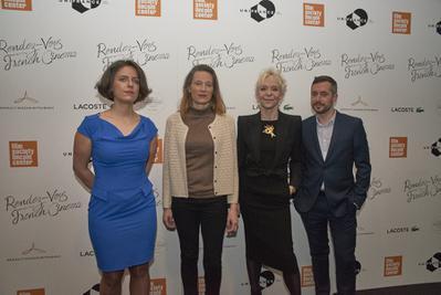 Succès historique pour l'édition 2018 des Rendez Vous with French Cinema in New York - Julie Roué, Marine Francen, Tonie Marshall et Xavier Legrand - © @Jean-Baptiste Le Mercier/UniFrance