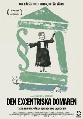 Una jueza fuera de lo común - Poster - Sweden