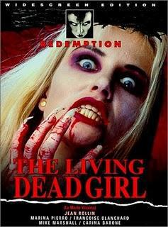 The Living Dead Girl - Jaquette DVD UK