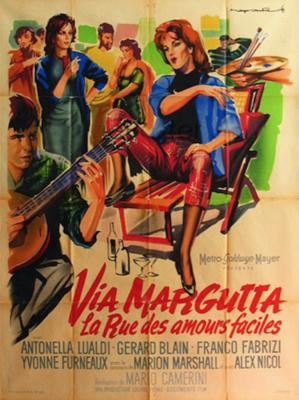 Via Margutta : La Rue des amours faciles