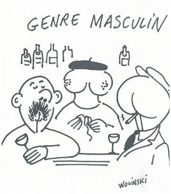 Genre masculin