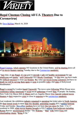 Revista de prensa – Marzo del 2020
