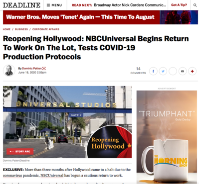 International press roundup: June 2020