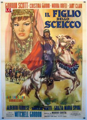 Le Retour du fils du Cheik - Poster Italie