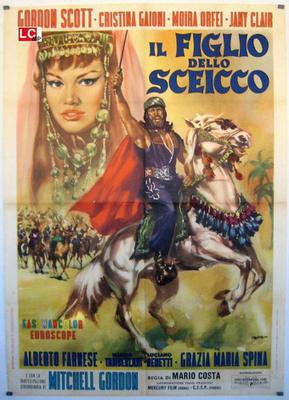 The Son of the Sheik - Poster Italie