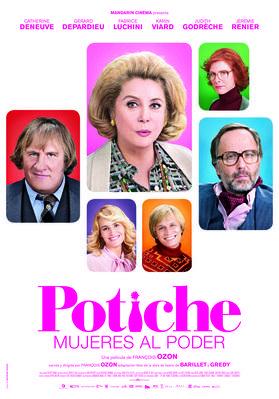 Potiche, mujeres al poder - Affiche Espagne
