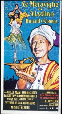 Le Meraviglie di Aladino - Poster - Italy