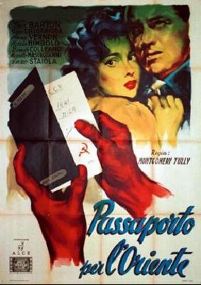 L'Inconnue des cinq cités - Poster - Italy