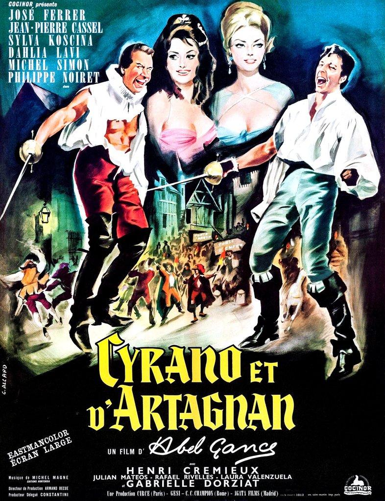 Cyrano and D'Artagnan
