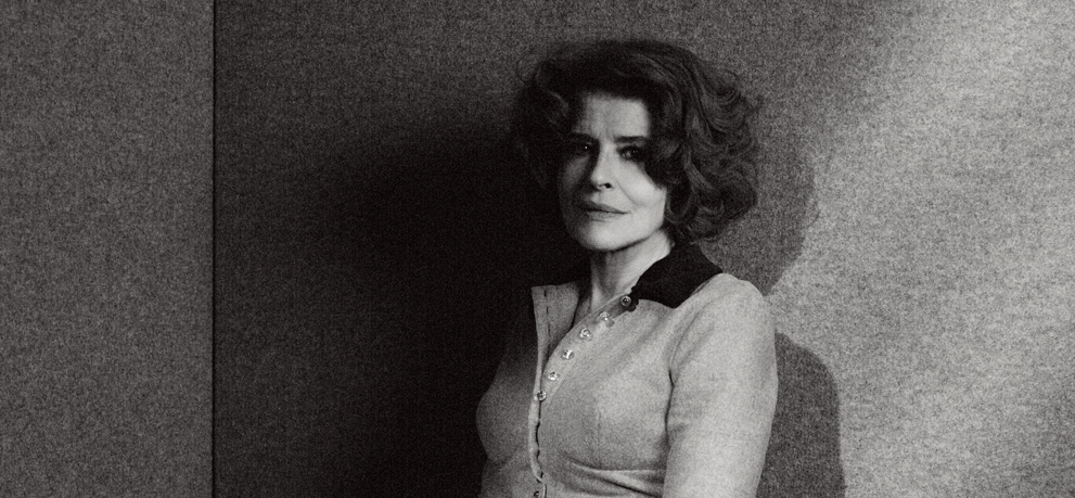 """""""Keeping in Touch"""": Fanny Ardant talks with Patrick Heidmann (Germany) - © Matias Indjic/UniFrance"""