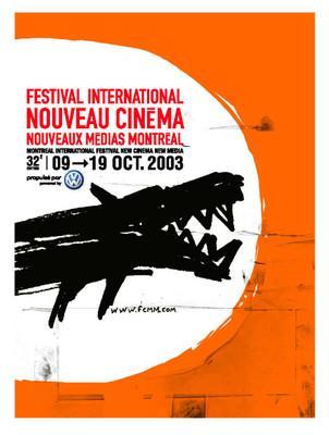 Montreal Festival du Nouveau Cinéma - 2003