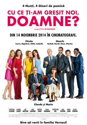 Qu'est-ce qu'on a fait au bon Dieu ? - Poster Roumanie