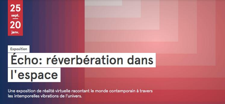 La VR française au cœur d'une exposition à Montréal