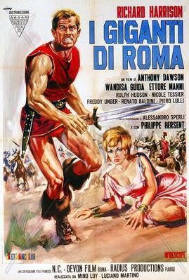Los Gigantes de Roma - Poster Italie