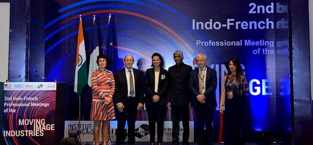 UniFrance aux Rencontres franco-indiennes des métiers de l'image à Bombay