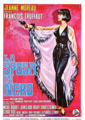 黒衣の花嫁 - Poster Italie