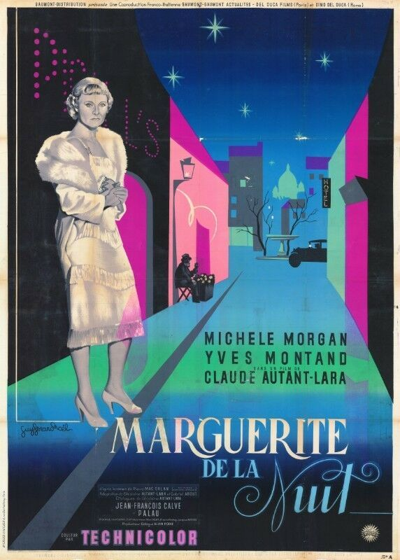Marguerite of the Night - Poster France