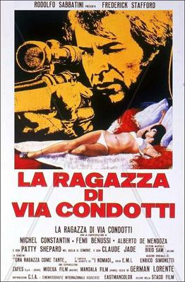 La Chica de Via Condotti - Poster - Italy