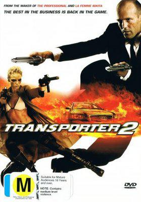 Le Transporteur 2 - Poster DVD Australie