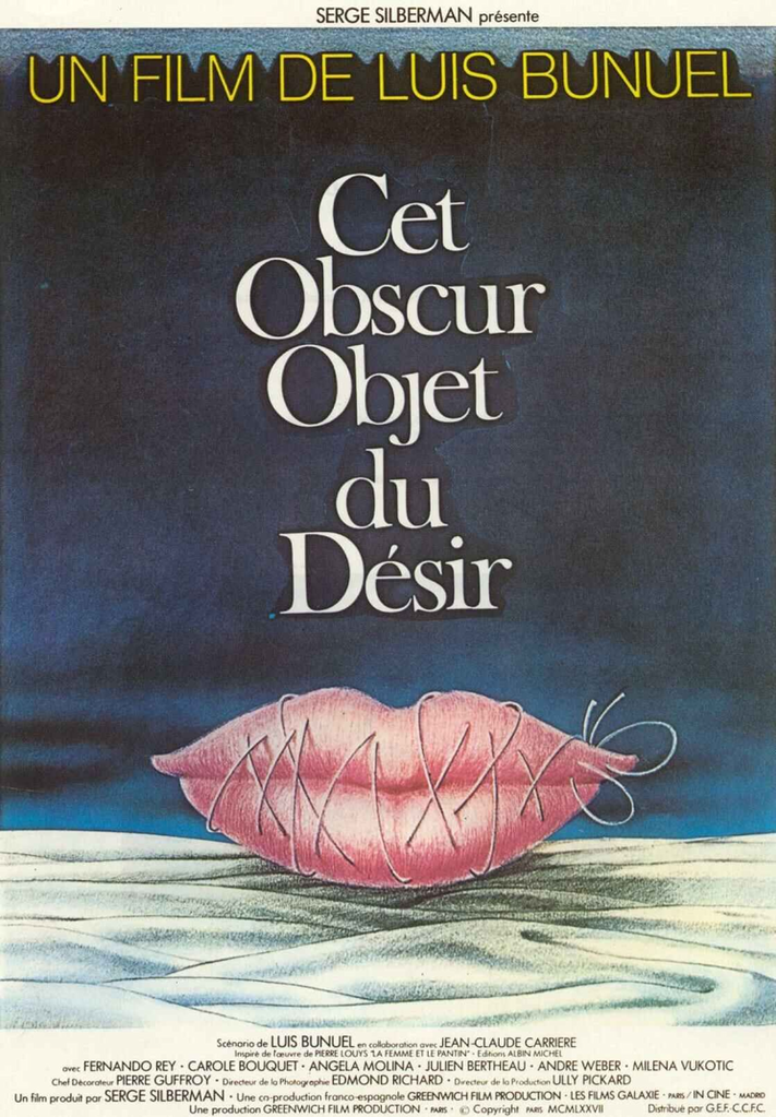That Obscure Object of Desire de Luis Buñuel (1977) - UniFrance
