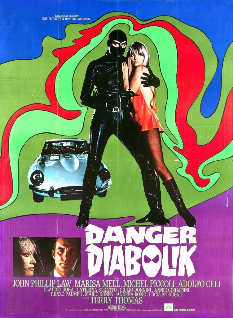 Danger: Diabolik! de Mario Bav...