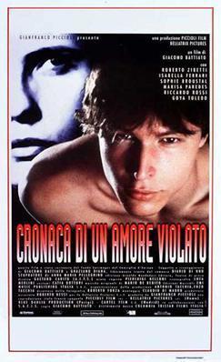 Diario de un amor violado - Poster - Italy