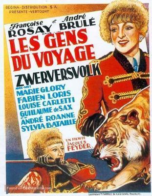 Les Gens du voyage - Poster - Belgium
