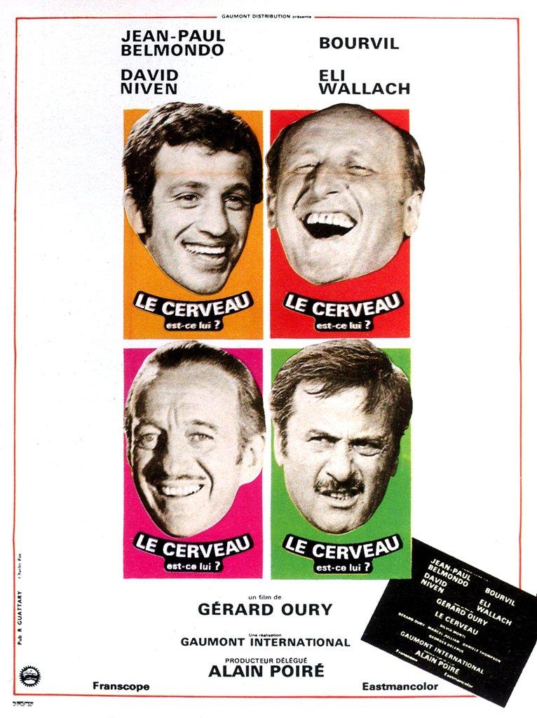 大頭脳 de Gérard Oury (1969) -...