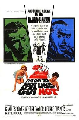 The Day the Hot Line Got Hot - Poster Etats-Unis