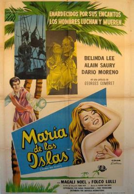 Marie des Isles - Poster Espagne