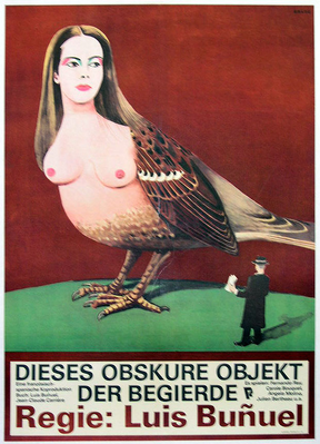 That Obscure Object of Desire - Poster Allemagne