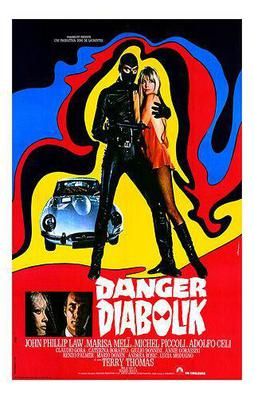 Danger: Diabolik! - Poster - Italy