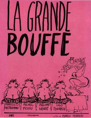 La Grande Bouffe - Poster France