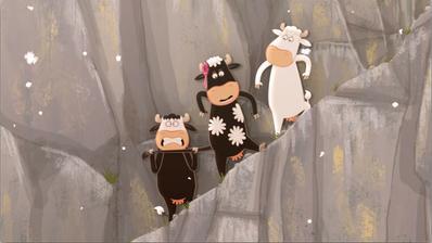 Le Quatuor à cornes : là-haut sur la montagne