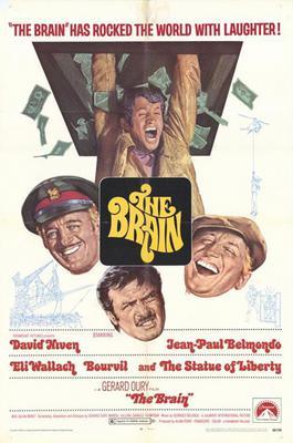 Le Cerveau - Poster Angleterre