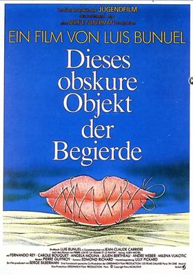 Cet obscur objet du désir - Poster Allemagne