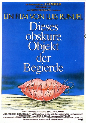 Ese oscuro objeto del deseo - Poster Allemagne