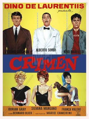 Crimen en Montecarlo - Poster - Italie