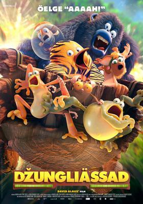 The Jungle Bunch: The Movie - Poster - Estonia