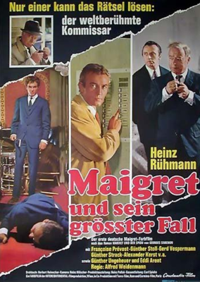 Maigret fait mouche - Poster - Germany