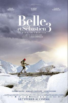 Belle et Sébastien 3, le dernier chapitre - Poster - Belgium