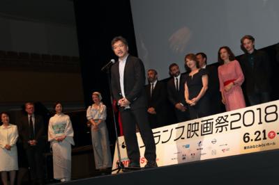 21 juin - Ouverture du 26e Festival du Film Français au Japon - Hirokazu Koreeda - © Laurent Campus